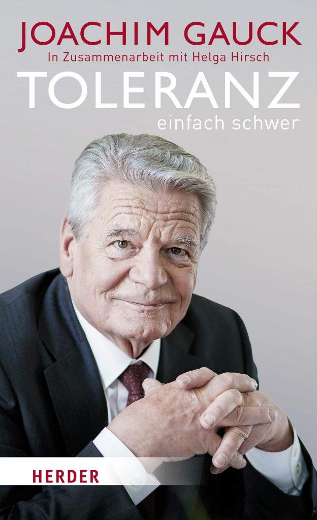"Book Cover: Joachim Gauck  ""Toleranz: einfach schwer"""